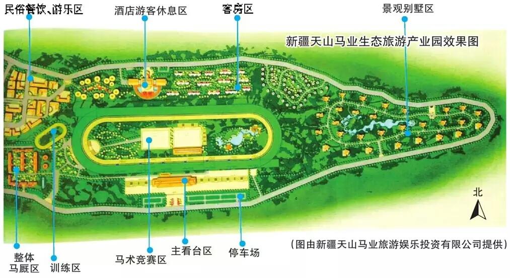 乌鲁木齐投资1.2亿打造马业产业园 将建国际标准赛马场